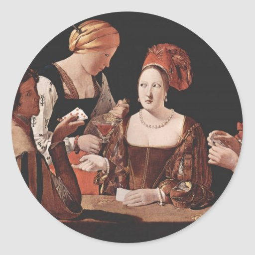The Cheat (with the Ace of Diamonds) - 1635 Sticker