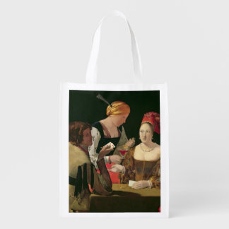 The Cheat with the Ace of Diamonds Grocery Bags