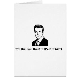 The Cheatinator Card