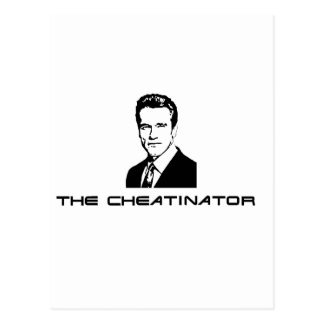 The Cheatinator Postcard