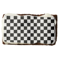 The Checker Flag Brownie