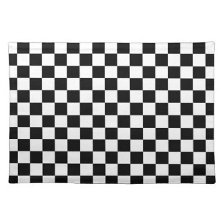 The Checker Flag Cloth Placemat