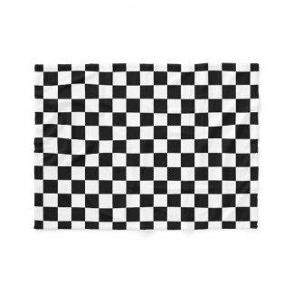 The Checker Flag Fleece Blanket