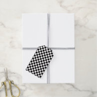 The Checker Flag Gift Tags