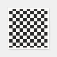 The Checker Flag Napkin