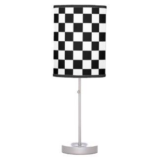 The Checker Flag Table Lamp