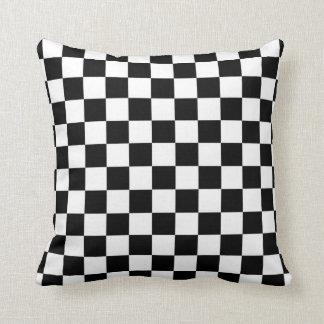 The Checker Flag Throw Pillow