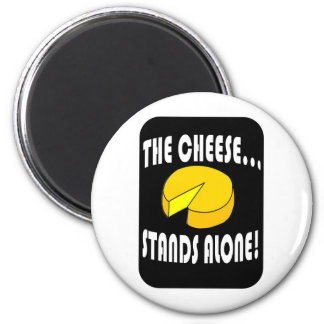 the cheese 2 inch round magnet