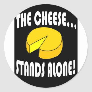 the cheese classic round sticker