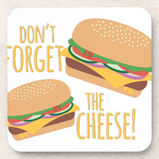 The Cheese Drink Coaster