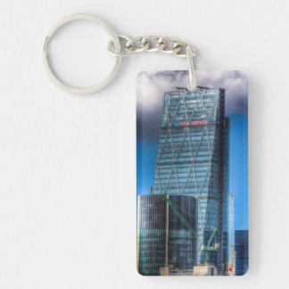 The Cheese Grater London Double-Sided Rectangular Acrylic Keychain