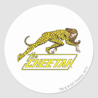 The Cheetah Classic Round Sticker