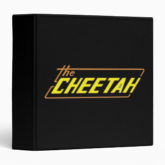 The Cheetah Logo Binder