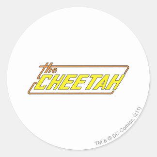The Cheetah Logo Classic Round Sticker