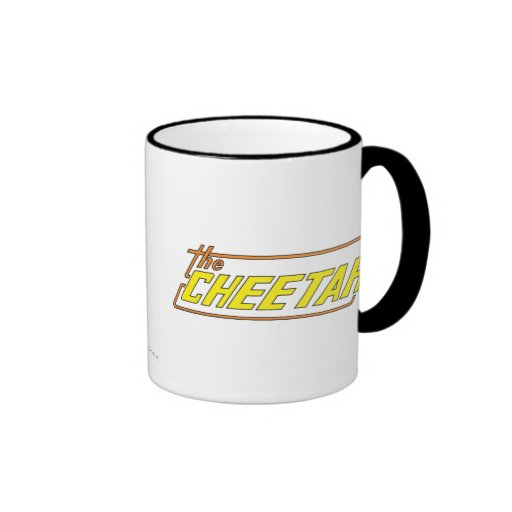 The Cheetah Logo Ringer Coffee Mug