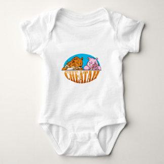 The Cheetah T Shirt, The Cheating Cheetah Baby Bodysuit
