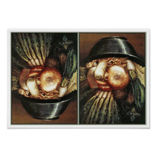 The Chef by Giuseppe Arcimboldo Posters