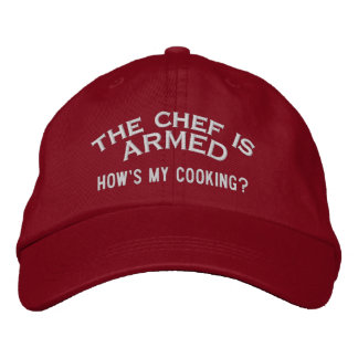 The Chef is ARMED 2 Embroidered Baseball Cap