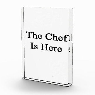The Chef Is Here Award