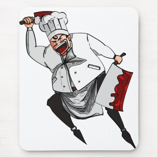 The Chef Mousepads