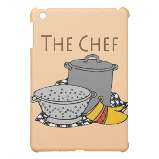 The Chef Pots and pans iPad Mini Cases