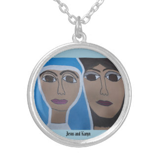 The Cherokee Jesus and Karyn Circle Necklace