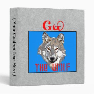The Cherokee Wolf Vinyl Binders