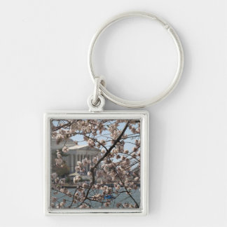 The Cherry Blossoms In Bloom In Washington DC Keychain