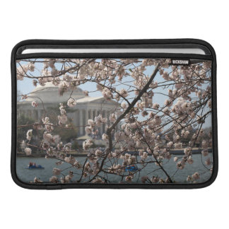 The Cherry Blossoms In Bloom In Washington DC MacBook Sleeve