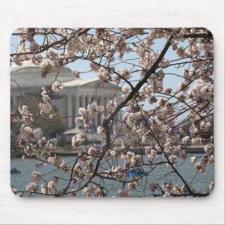 The Cherry Blossoms In Bloom In Washington DC Mouse Pad