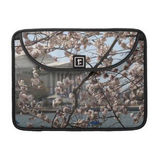 The Cherry Blossoms In Bloom In Washington DC Sleeve For MacBooks