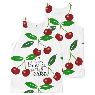 The Cherry On The Cake All-Over-Print Tank Top
