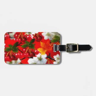 The Cherry Rush Collection Travel Bag Tag