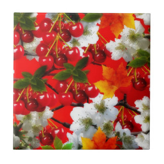 The Cherry Rush Collection Ceramic Tile