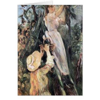 The Cherry Tree by Berthe Morisot Card