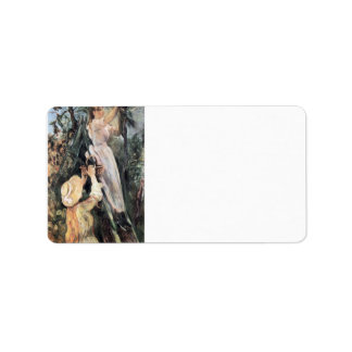 The Cherry Tree by Berthe Morisot Address Label