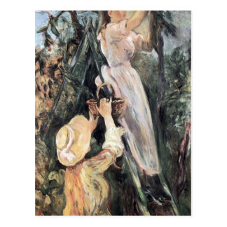 The Cherry Tree by Berthe Morisot Postcard