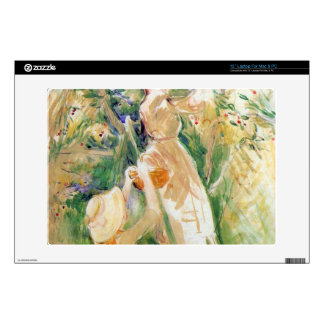 The Cherry Tree, study by Berthe Morisot Laptop Decals