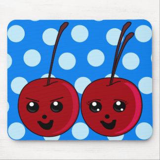 The Cherry Twins Mouse Pad