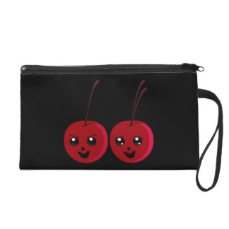The Cherry Twins Wristlet