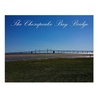 The Chesapeake Bay Bridge Postcard