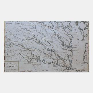 The Chesapeake Bay Rectangular Sticker