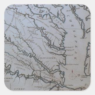 The Chesapeake Bay Square Sticker