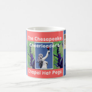 The Chesapeake Cheerleader's Chapel Hat Pegs Coffee Mug
