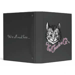 The Cheshire Cat binder