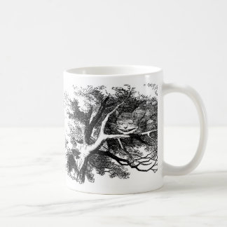 The cheshire cat coffee mug