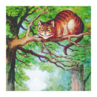 The Cheshire Cat from Alice in Wonderland Canvas Print