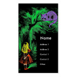 """The Cheshire Cat"" from ""Alice in Wonderland"" Double-Sided Standard Business Cards (Pack Of 100)"