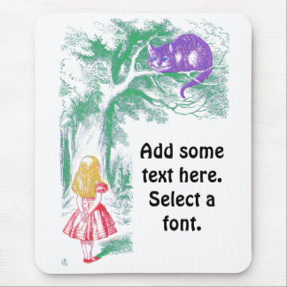 """The Cheshire Cat"" from ""Alice in Wonderland"" Mouse Pad"