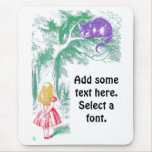 """""""The Cheshire Cat"""" from """"Alice in Wonderland"""" Mouse Pad"""